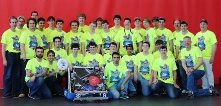 Robotics Team Makes Semifinals at BU Regional Competition