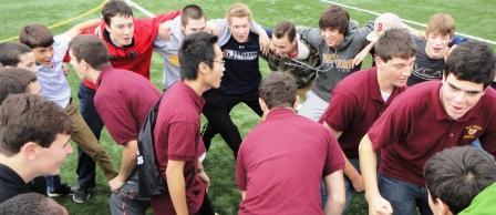 Freshmen Participate in First BC High Retreat