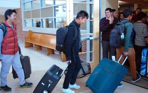 Students Arrive From India; Chinese Students to Follow