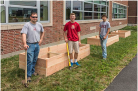 BC High Creates New Community Garden