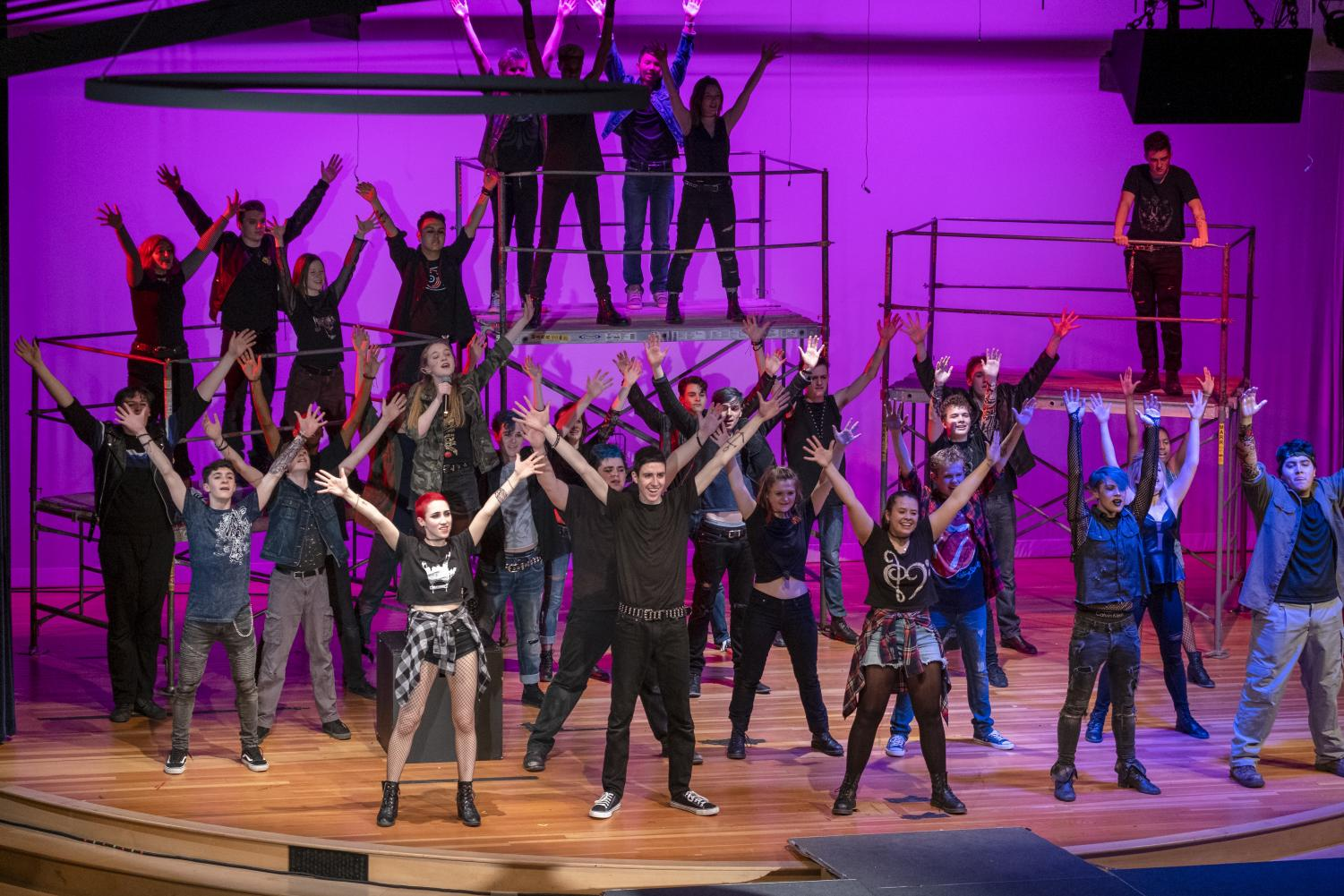 """Jesus Christ Superstar"" explodes on stage"