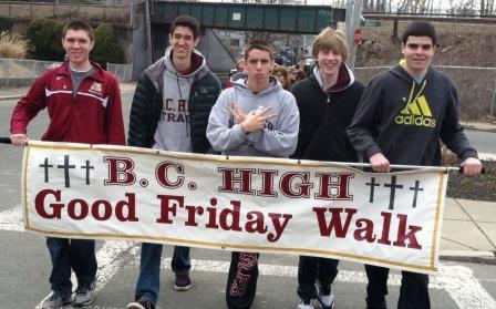 Good Friday Walk a Success