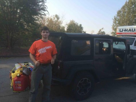 BC High student helps Florence recovery effort