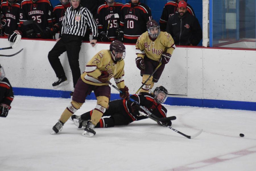 Hockey advances to state finals at Garden